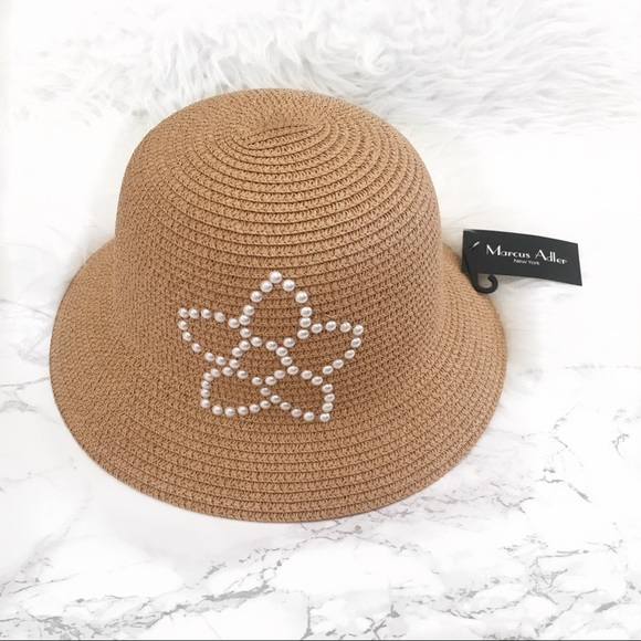 7c981b0e277 Marcus Adler bucket hat with pearl detail NWT